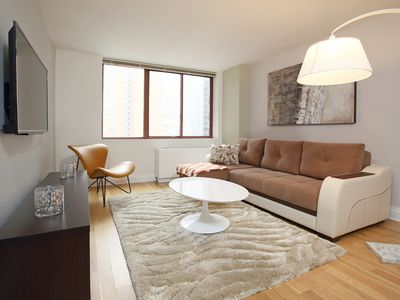 Photo for Enorme - Two Beds in Midtown West (5178)