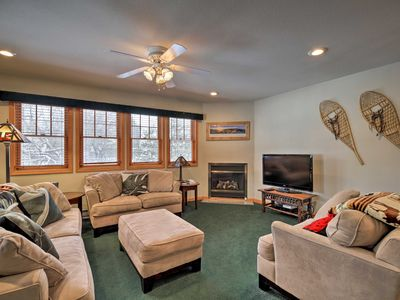 Photo for Cozy Central Lake Placid Townhome w/ Porch!