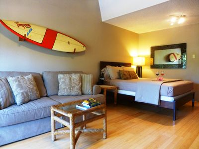 Photo for KBS 254 - Private, CLEAN, Free Parking/WiFi Sleeps 4 - Across Street from Beach