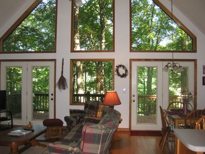 Photo for Beautiful cabin - surrounded by nature.  Great rates, great location!