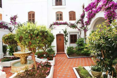Beautiful entrance of the apartment