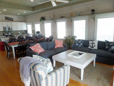 Photo for Amazing Ocean Views, Steps to the Beach, Pool Hot Tub, Game room!!