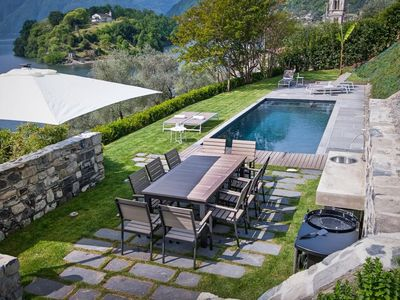 Photo for Villa Leon is a luxury property in Lake Como with a private pool SPA and fitness center, 5 bedrooms