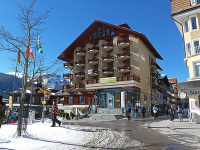 Photo for Apartment Eiger in Wengen - 4 persons, 1 bedrooms