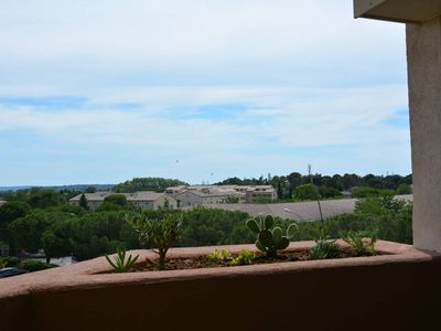 Photo for Bright apartment 51 m², terrace, beautiful view, city center, private parking.