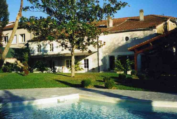 Great Saint Privat Des Prés House Rental   Rear Of House From Pool Area