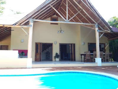 Photo for Caribbean villa located 200 m from Las Ballenas beach