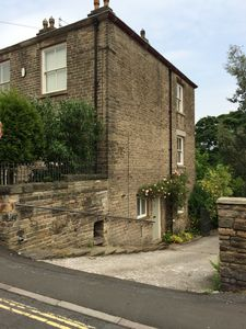 Spacious self contained property attached to a large period home. Private parking to the rear.