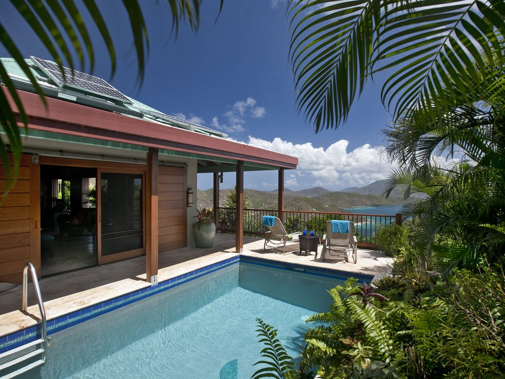 St Johns Most Romantic Villa Available HomeAway Calabash Boom - And architectural cottages on secluded private pond homeaway