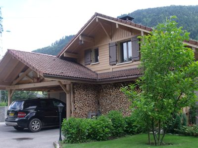 Photo for COMFORTABLE CHALET WITH POOL 10 MIN THONES CENTER OF STATIONS / LAC