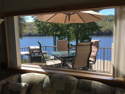 Photo for NOW AVAILABLE FOR A SAFE SUMMER GET-A-WAY - Big Boulder Lake Townhome, Sleeps 8