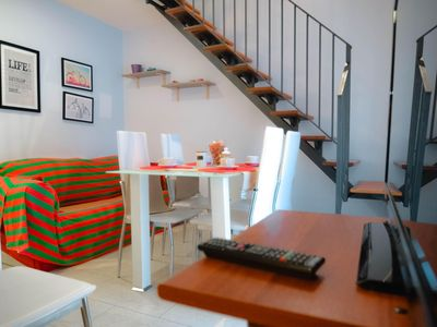 Photo for Pacini apartment in Catania with WiFi, integrated air conditioning & balcony.