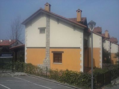 Photo for Mountain style villa with garden for five people at 900m beach