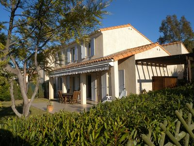 Photo for Biot/Antibes - Villa Soleil - family home - AC and internet