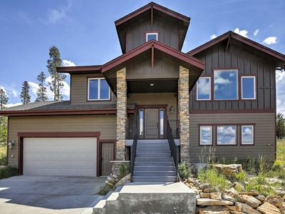 Photo for Magnificent 6BR Granby Home w/ Hot Tub - Ski-in/Ski-Out!