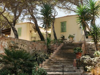 Photo for Delightful 4 Bedroom Farmhouse Set In Olive Groves And Gardens With Plunge Pool