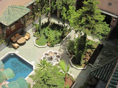 Photo for A real Riad with patio and garden.