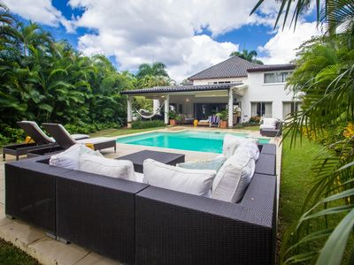 Photo for A luxurious 5-bedroom villa located within a walking distance to the beach