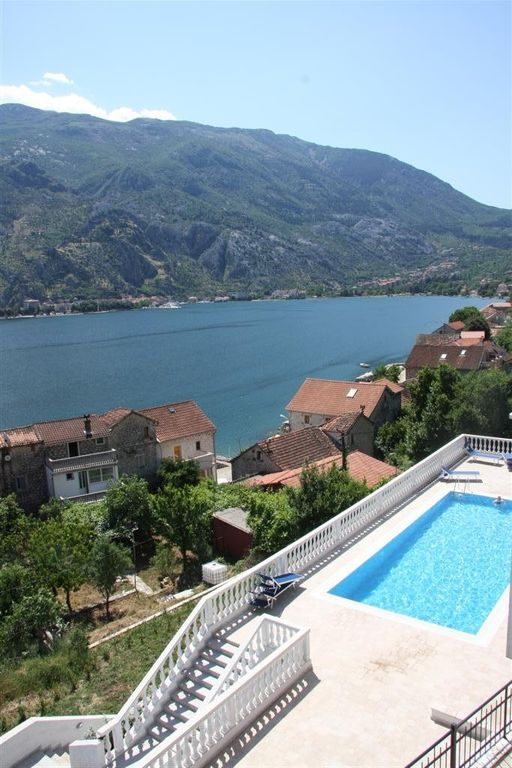 Beautiful Apartment With Best Views Over Kotor Bay And A Pool