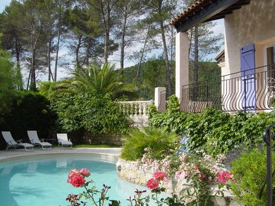 Photo for Charming holiday home in Figanieres, Beautiful panorama, Provence French Riviera