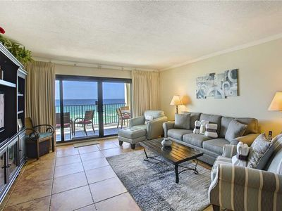 402 Huntington By The Sea - Gulf Front! Community Pool! Free Beach Service!