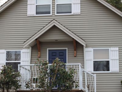 Photo for Cozy and clean 3 bedroom house minutes from sandy beaches of Qualicum Beach