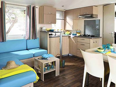 Photo for Camping Holiday Green ***** - Cottage Plus 3 Rooms 4/6 People