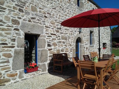 Photo for Character cottage between sea and Monts d'Arrée