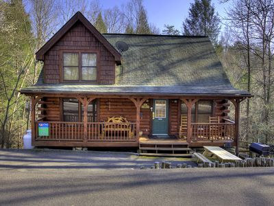 Photo for 2 Bedroom Resort Cabin 5 miles from Downtown Gatlinburg & Pigeon Forge