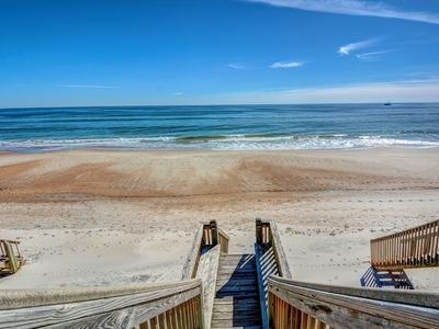 Photo for ISLAND TIME ESCAPE: 4 BR / 4 BA oceanfront in Surf City, Sleeps 12, Elevator