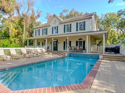 Gorgeous Hilton Head Vacation Home w/ Private Pool! Great for Groups!