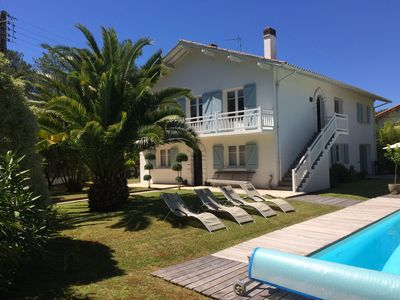 Photo for Large villa with private pool and quiet garden 5 bedrooms