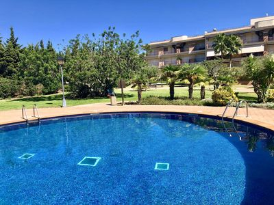 Photo for Golden Beach 2 Bedroom Apartment, with common pool and large private terrace