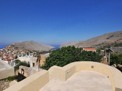 """Photo for MUSEUM HOUSE SYMI ISLAND """"TERRACE"""""""