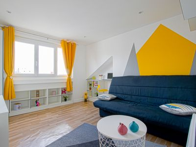 Photo for Fully equipped apartment in downtown Le Havre, close to everything!