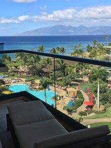 Relaxing Lounge Chair which most condos dont have. Lanai View