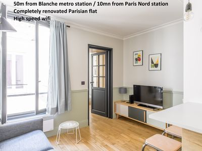Photo for Montmartre + SoPi districts: charming flat