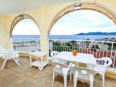 Photo for Cannes La Bocca Apartment, Sleeps 4 with WiFi