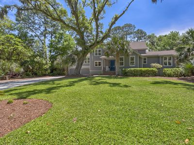 Photo for Fabulous 6 Bedroom Home with Pool, Spa, 2 Master Suites & Easy Walk to Beach!