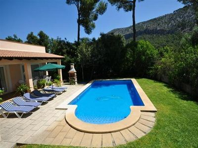 Photo for Chic House Gabriel in Port d Alcudia, with pool for 8 persons with garden.