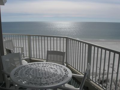 Your Balcony! Enjoy the Stunning Gulf Front View from Your 5th Floor 'Penthouse'
