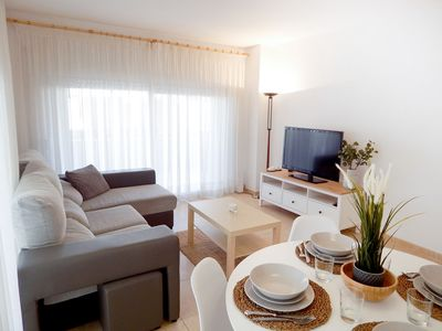 Photo for Playa de Aro Centric apartment - with terrace next to the sea