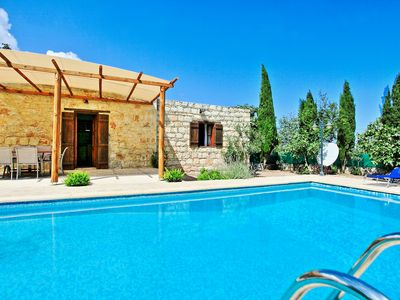 Photo for Simeon Estate: Cozzy Stone House with Private Pool