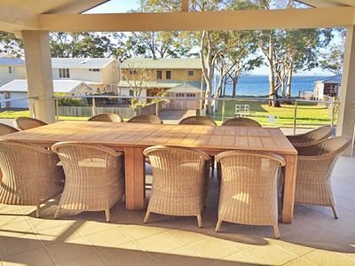 Photo for 'Beauty and the Beach', 88 Foreshore Drive - large home with WIFI & water views