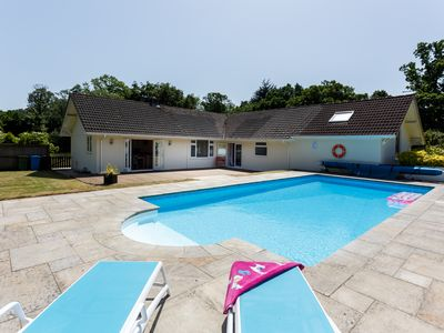 Photo for Spacious Bungalow with Heated Pool