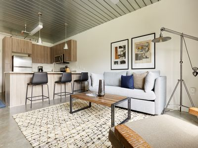 Photo for Sonder | Mid Main Lofts | Industrial 1BR + Pool