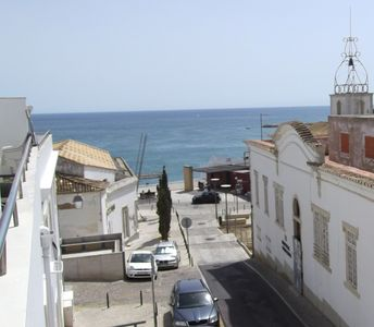 Photo for Charming apartment Albufeira, beach 100m, WIFI, air conditioning, sea view terrace