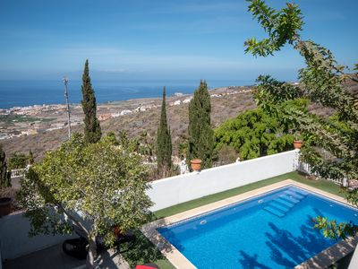 Photo for stunning 4 bedroom villa, with private heated pool