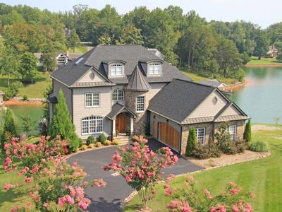 Photo for Best house on SML!!8400 S.F. Waterfront French Country Castle. Luxury Retreat!