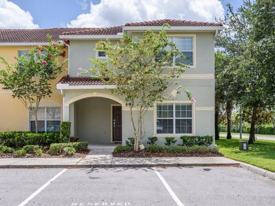 Photo for 🌴5 BR Beautiful all blue Townhome with private pool at Paradise Palms Resort🌴